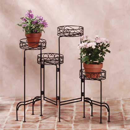 Plant stands for indoors
